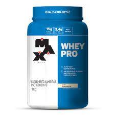 Whey Pro 1kg - Max Titanium