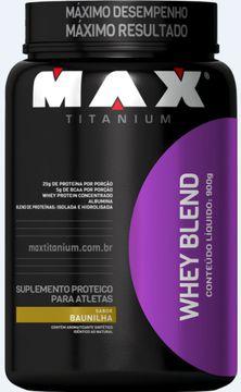 Whey Blendo 900g - Max Titanium