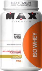 Iso Whey 900g - Max Titanium