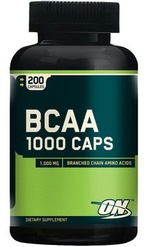 Bcaa 1000 200 capsulas - Optimum Nutrition