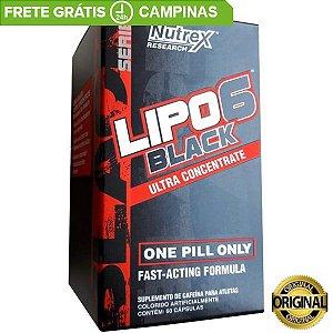 Lipo 6 Black 120  Cápsulas UC Original Nutrex