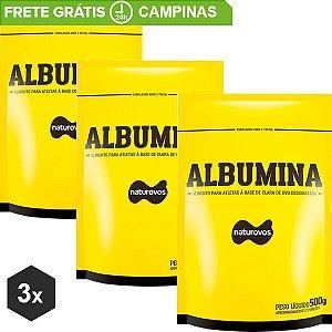Combo Albumina NaturOvos 500g