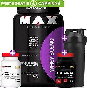 Combo Ganho de Massa 25g proteínas