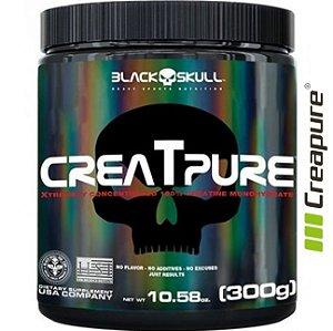 Creatpure 300g Black Skull  - Creatina Creapure