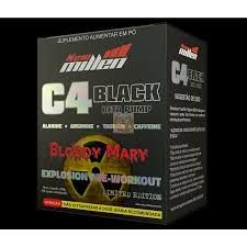 C4 BLACK -NEW MILLEN - 22 DOSES