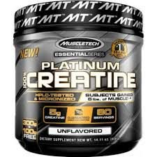CREATINE -PLATINUM- MUSCLETECH-400G