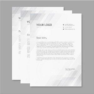 Cópias impressões Xerox em preto e branco