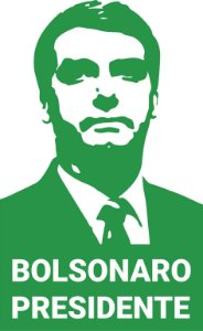 Adesivo Para Carro Bolsonaro Presidente 2018 Lataria E Vidro