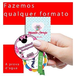 Kit Etiquetas Rótulos Adesivos Personalizadas Promoção