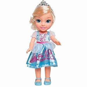Boneca Luxo Princesa Disney Cinderela Mimo 6347