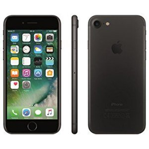 """iPhone 7 Preto Matte 32GB com 4,7"""", iOS 10, Processador A10, 4G, Câmera de 12 MP Desbloqueado"""