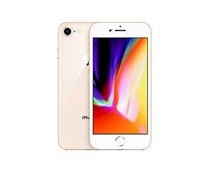 """Apple iPhone 8 Dourado 64GB com 4,7"""", iOS 11, Processador A11, 4G, Câmera de 12 MP Desbloqueado"""