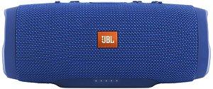 JBL CHARGE 3 AZUL - Caixa de som portátil, bluetooth, à prova d'água, azul
