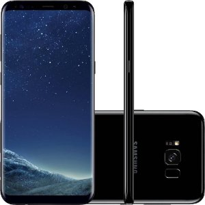 "Smartphone Samsung Galaxy S8+ Dual Chip Android 7.0 Tela 6.2"" Octa-Core 2.3 GHz 64GB Câmera 12MP - Preto"