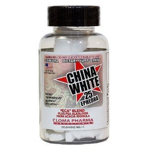 CHINA WHITE 25 - ECA BLEND - 60 TABS