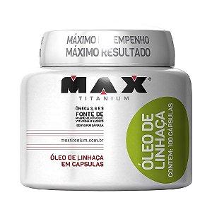OLEO DE LINHACA MAX 100 CAPS