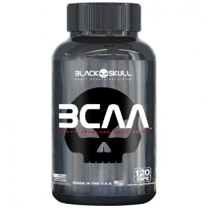 BCAA 2:1:1 120 CAPS BLACK SKULL