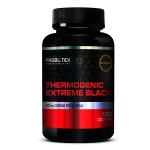 THERMOGENIC EXTREME BLACK 120 CAPS