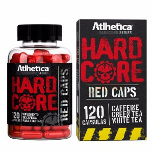 HARDCORE RED CAPS 120 CAPS