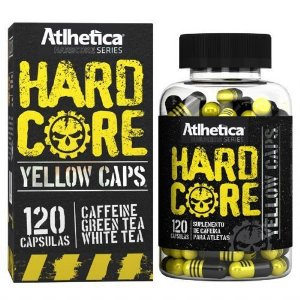 HARDCORE YELLOW CAPS 120 CAPS