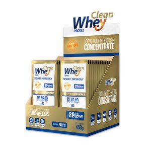 CLEAN WHEY CONCENTRATE 30UN-15G NATURAL