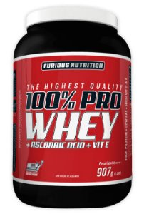 100% PRO WHEY 907G - FURIOUS NUTRITION