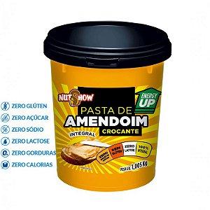PASTA DE AMENDOIM CROCANTE 1,005KG NUTSHOW