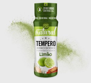 TEMPERO 50G LIMÃO