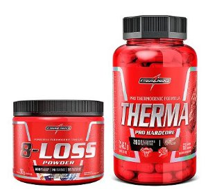 COMBO 8-LOSS POWER 200GR + THERMA HARDCORE 60CAPS