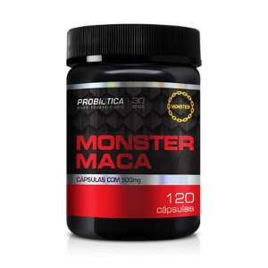 MONSTER MACA PERUANA 120 CAPS