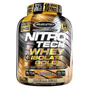 NITRO TECH WHEY ISOLATE GOLD 4LBS
