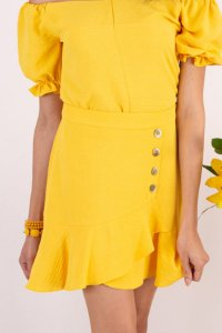 Saia Olívia - Amarelo