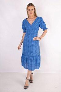 Vestido Luna Laise Azul