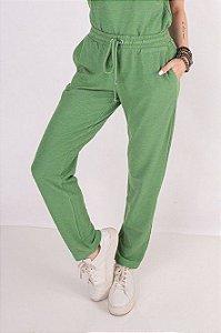 Calça Moletom Rustic Verde