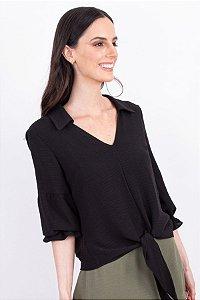 Camisa Yasmin - Preto