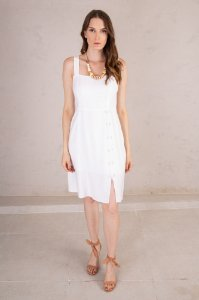 Vestido Mary Off White