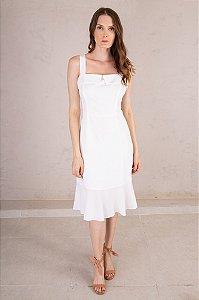 Vestido Midi Miami Off White