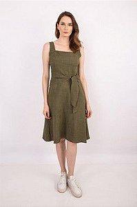 Vestido Eliza Militar