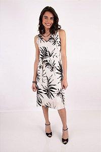 Vestido New Tropical - Preto