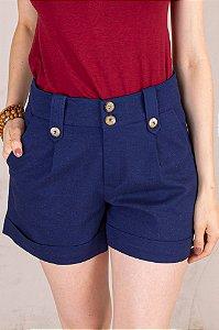 Shorts Caroline - Azul Marinho