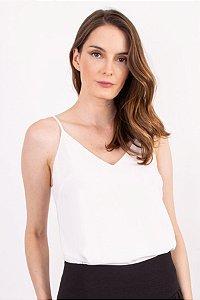 Regata Larissa Petit Crepe Off White