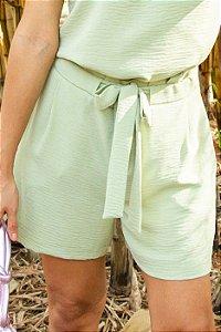 Shorts Hellen - Celadon