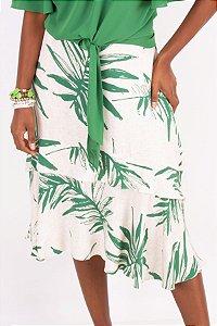 Saia Midi New Tropical Green
