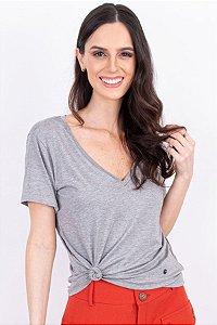 Blusa T-shirt Essential Dec.V Prata