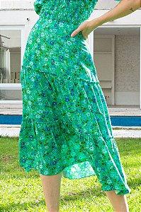 Saia Midi Liberty Verde