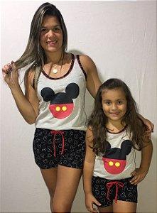 Pijama MicKey/Minie Feminino