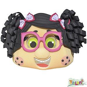 Cabeção em Espuma - Menina de Óculos Rosa