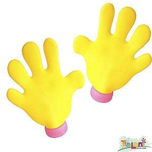 Mãos Gigantes de Espuma