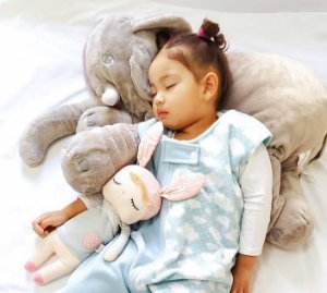 Saco de dormir para bebê em Microsoft azul nuvem  (inverno)