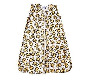 Saco para bebê dormir malha 100% algodão leãozinho (verão)